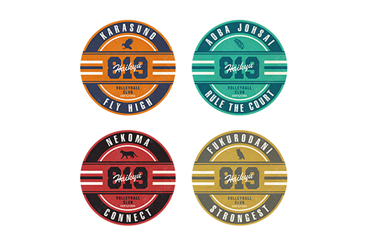 モチーフステッカー 4種